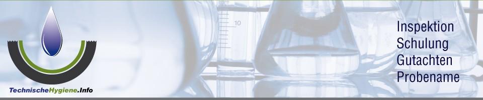 Technische Hygiene – Beseitigung von Legionellen
